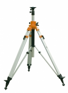 "Extra Heavy Duty Elevating Aluminum Nedo Tripod 33""-119"""