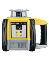Geomax 40H Precision Contractors Rotary Laser Level with ZRP105 Pro Receiver