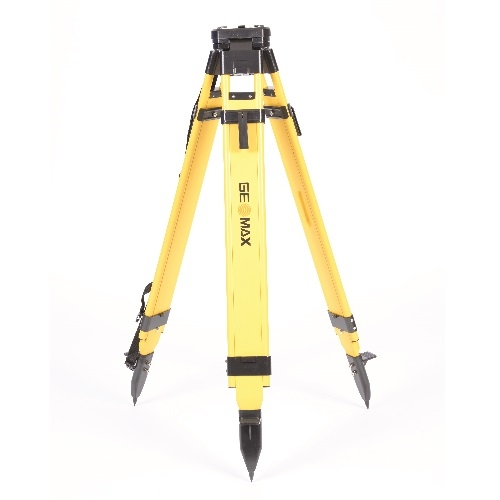 Geomax Heavy Duty Wood & plastic coated Tripod with Quick Clamp