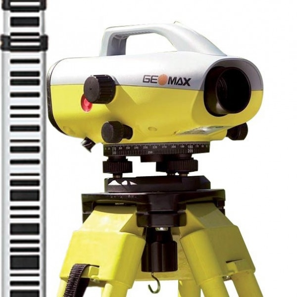 GeoMax ZDL700 Sprinter Digital Bar-Code Level with staff