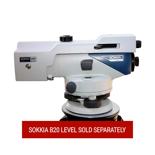 Sokkia OM5F Optical Micrometer (for Sokkia B20 Automatic Level)