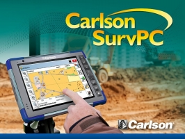 Carlson RT3  Rugged TABLET Data collector, SurvPC