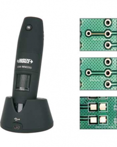 INSIZE ISM-WF200 Digital Microscope, Wireless, 10x-200X