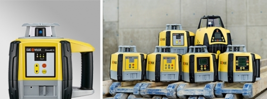 NEW Geomax Zone Series Laser Levels