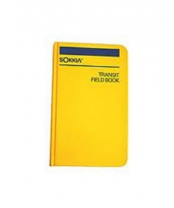 Sokkia Engineer's Field Book, 8152-30 Bound Book, Hard Cover