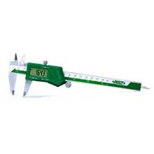 "INSIZE 1102-200 Digital Caliper, 0-8""/0-200mm Range"