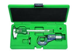 INSIZE 5022 2-Piece Electronic Caliper and Micrometer Set