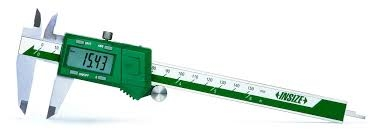INSIZE 1102-300 INSIZE MEASURING TOOL, Fraction Electronic Caliper 0-300mm/0-12""