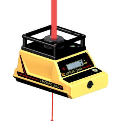 LaserLine Quad 1000 Precision Verticle Plumb Laser Level