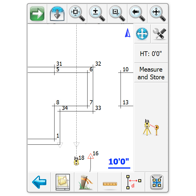 Microsurvey layout pro construction layout software with for Construction layout software
