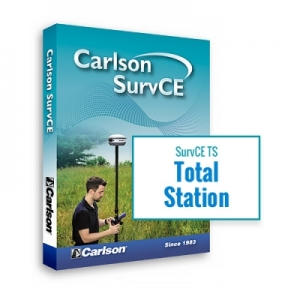 Carlson SurvCE TS 5.0 Data Collection Software